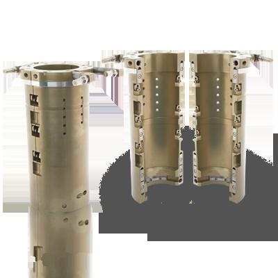 shell holder for rotary machine